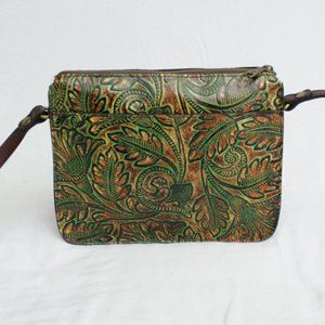 PATRICIA NASH Nazaire Floral Tooling Crossbody